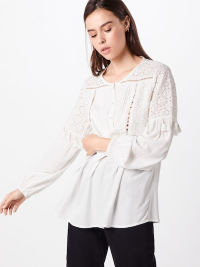 Cream Bluse 'Louisa' in weiß: Frontalansicht