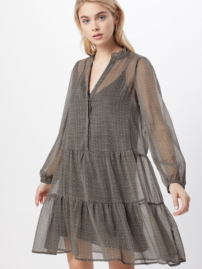 Neo Noir Kleider 'Federica French Tile' in beige / nachtblau, Modelansicht