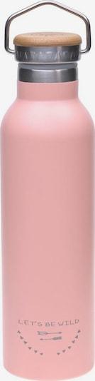 LÄSSIG Trinkflasche 'Adventure' in rosa, Produktansicht