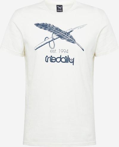 Iriedaily Shirt in navy / weiß, Produktansicht