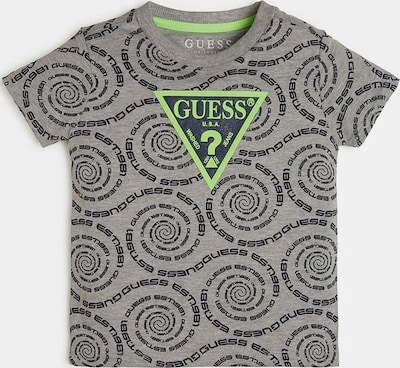 GUESS KIDS Guess Kids T-SHIRT ALLOVER-PRINT in grau, Produktansicht