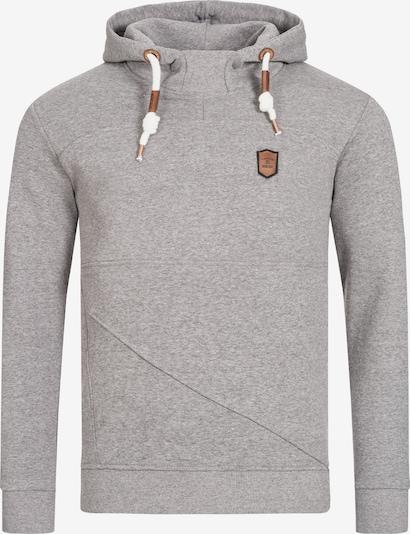 INDICODE JEANS Sweatshirt 'Boldero' in Grijs PMn7Xu69