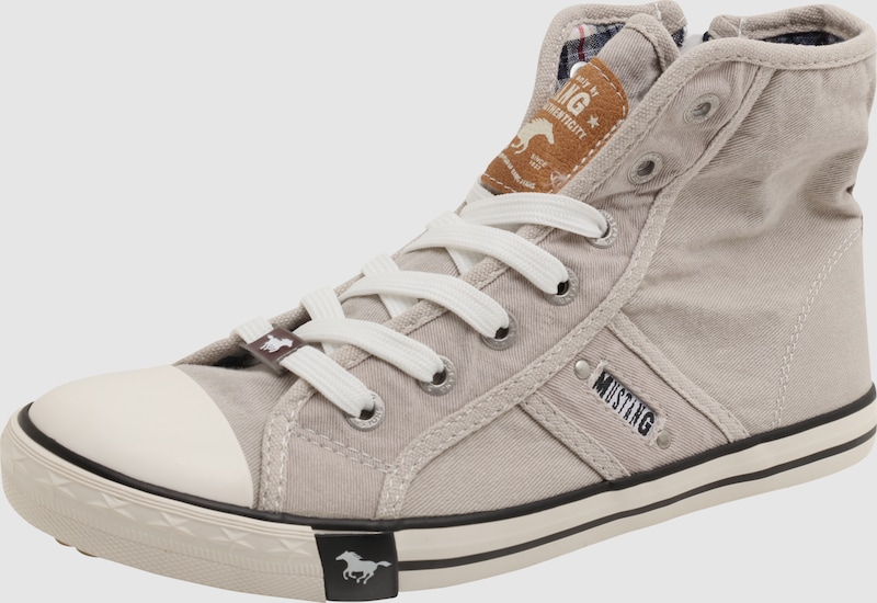 MUSTANG | Hohe Sneaker aus Canvas