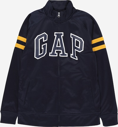 GAP Jacke in dunkelblau / weiß, Produktansicht