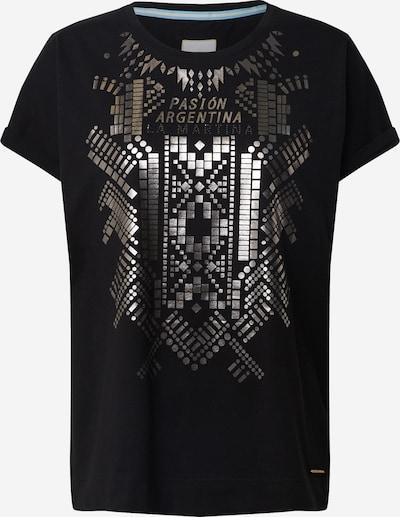 Tricou 'QUELEA' La Martina pe negru, Vizualizare produs