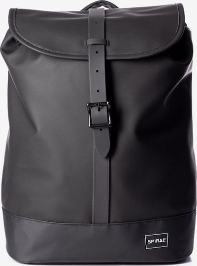 SPIRAL Rucksack 'RUSH' in schwarz / weiß, Produktansicht