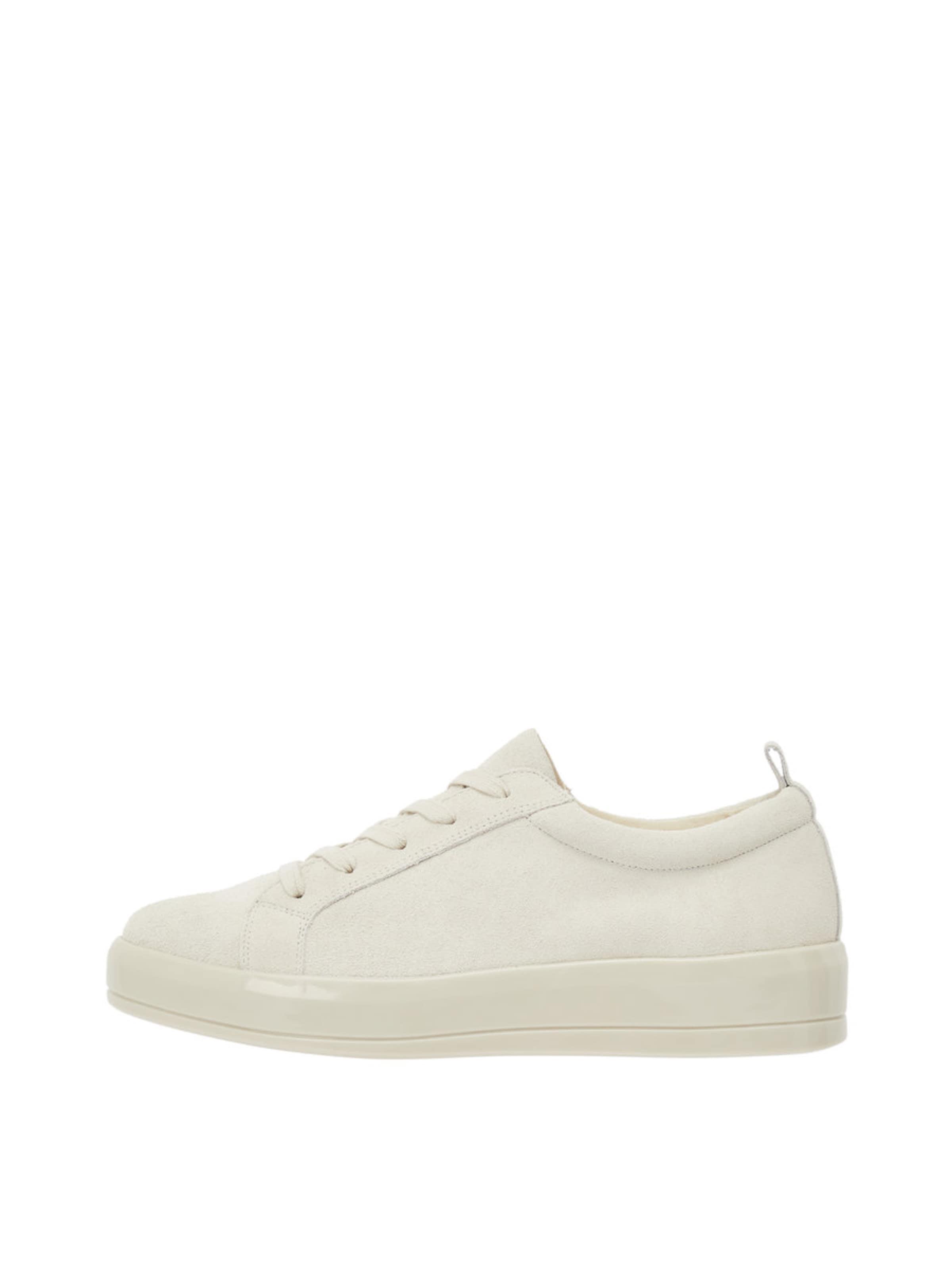 Haltbare Mode billige Schuhe Bianco | Geschnürte Leder Sneaker Schuhe Gut getragene Schuhe