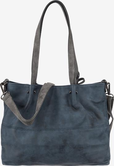 Emily & Noah Shopper 'Emma' in taubenblau / grau, Produktansicht