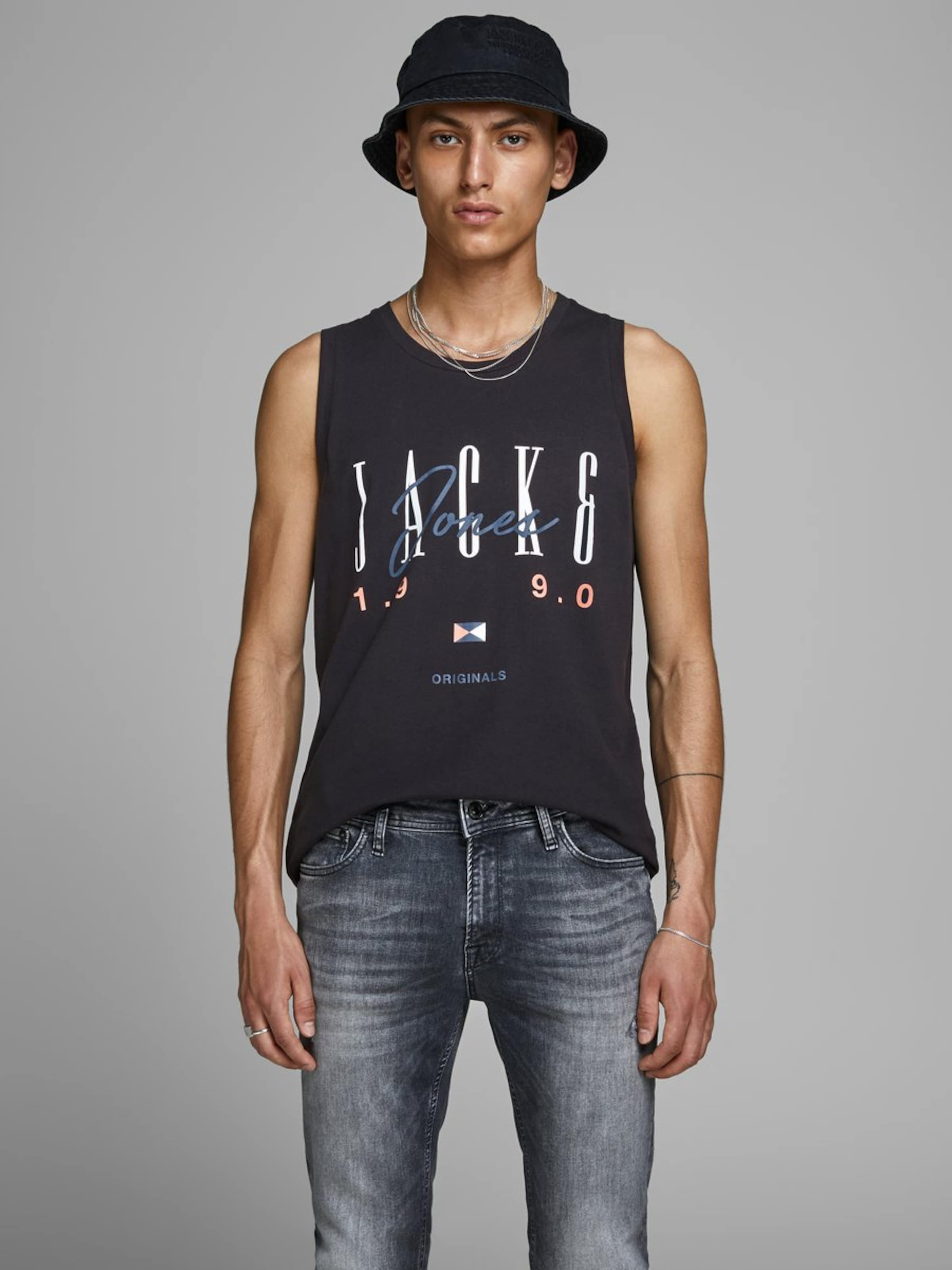 Bleu Noir grisSaumon Blanc Jones T shirt Jackamp; En F1lJTKc