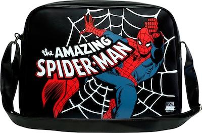 """LOGOSHIRT Tasche """"Spider-Man"""" in blau / rot / schwarz / weiß, Produktansicht"""