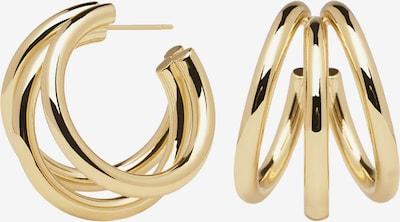 P D PAOLA Ohrringe 'TRUE' in gold, Produktansicht