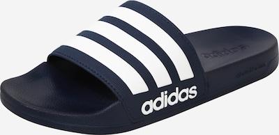 ADIDAS PERFORMANCE Beach & swim shoe 'Adilette' in dark blue / white, Item view