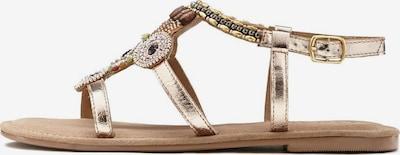 LASCANA Sandale in mischfarben / rosé, Produktansicht