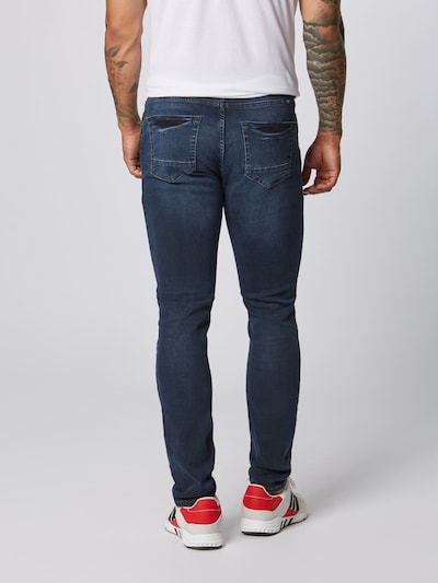 BLEND Jeans 'Echo Skinny Multiflex' in blue denim: Rückansicht