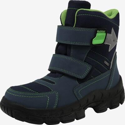 RICHTER Stiefel in blau / grün, Produktansicht