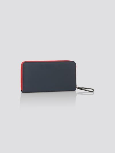 TOM TAILOR Portemonnaie 'GENOVA' in blau / rot, Produktansicht