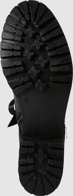 BULLBOXER Stiefelette mit Satinschnürbändern