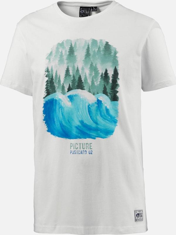 Picture T-shirt Postcard Wave