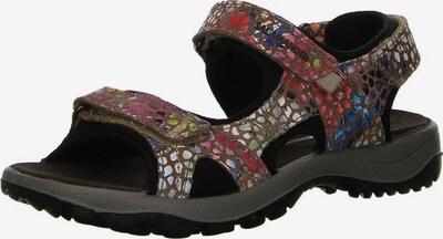 LURCHI Sandalen in braun / mischfarben, Produktansicht