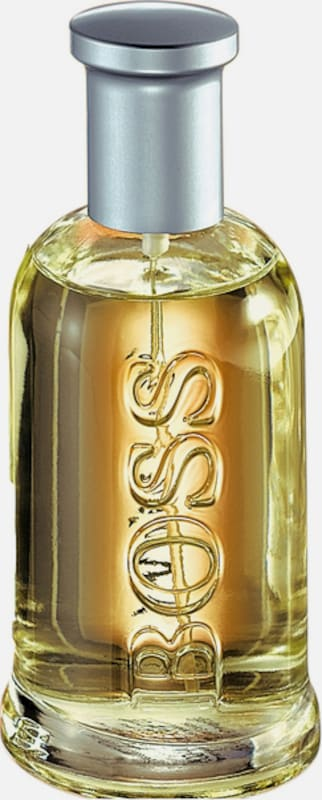 BOSS Aftershave in gold: Frontalansicht