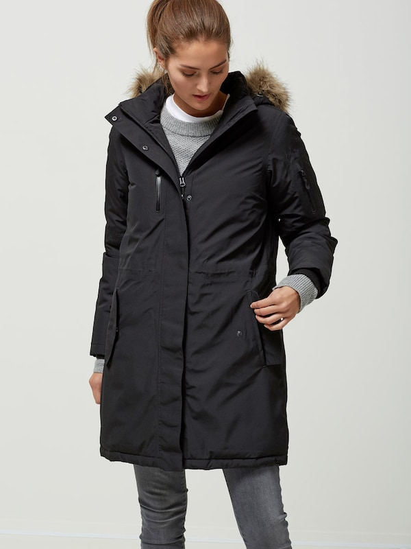 SELECTED FEMME Mantel mit Kapuze 'Dandy Tech Jacket'