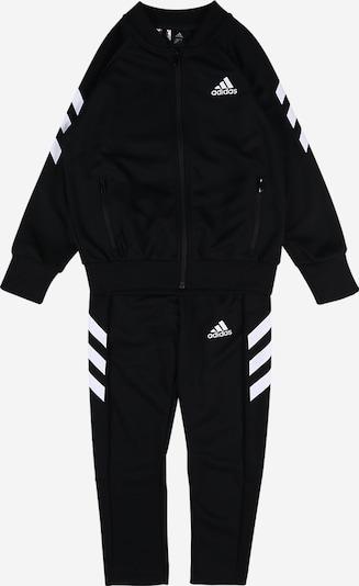 ADIDAS PERFORMANCE Trainingsanzug in royalblau / schwarz / weiß, Produktansicht