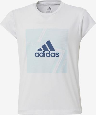 ADIDAS PERFORMANCE Functioneel shirt in de kleur Blauw / Lichtblauw / Wit, Productweergave