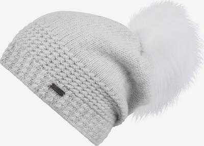 chillouts Bonnet 'Alexa' en gris clair, Vue avec produit