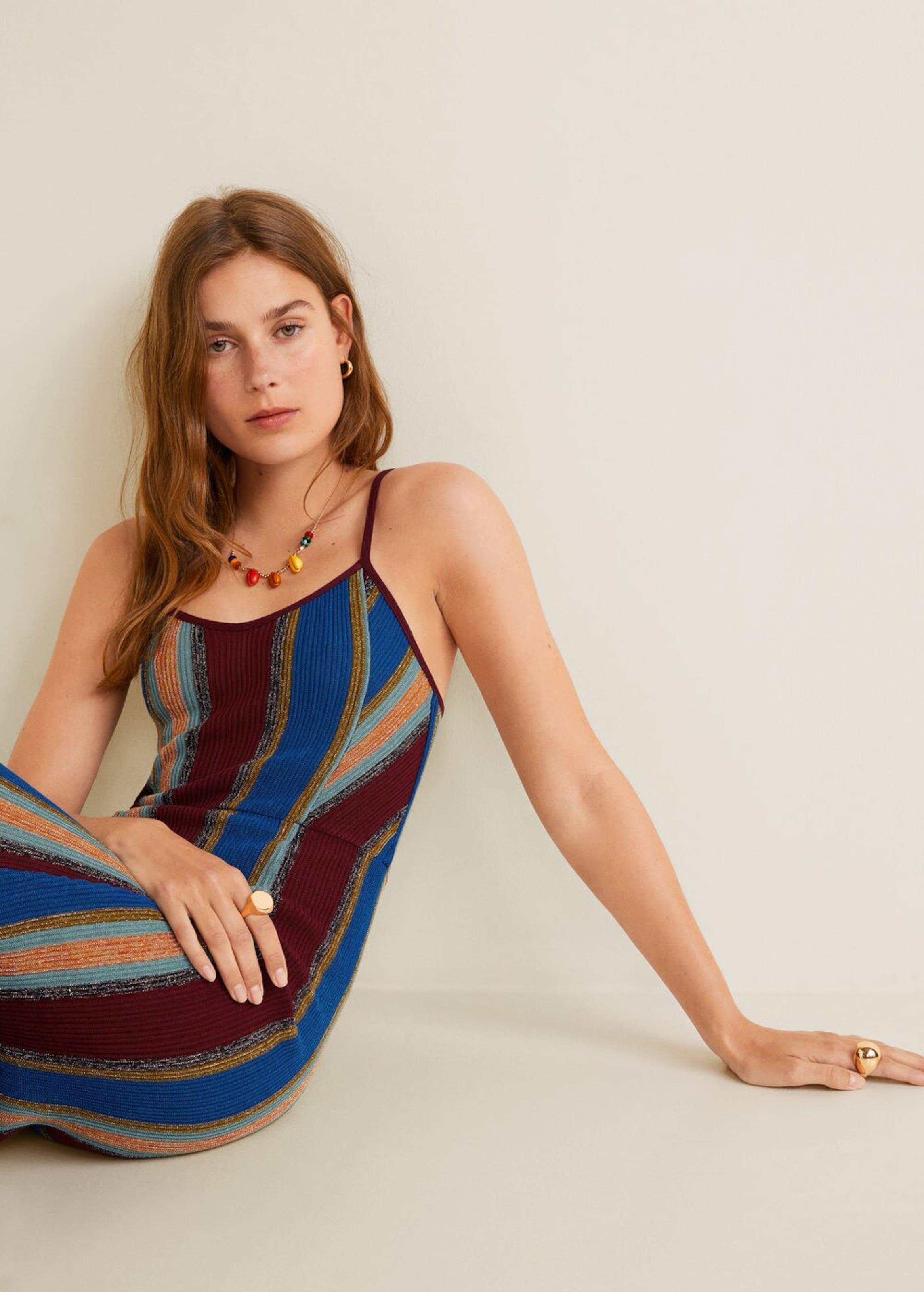 BlauWeinrot Kleid In Rubinrot Mango 'habana' Ok8n0XNwP