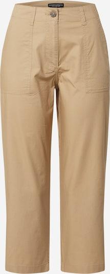 Pantaloni 'Stone Poplin Crop' Dorothy Perkins pe ocru, Vizualizare produs