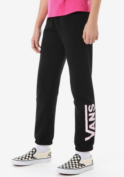 VANS Sporthose 'KOE DEE SWEATPANT' in schwarz / weiß: Frontalansicht