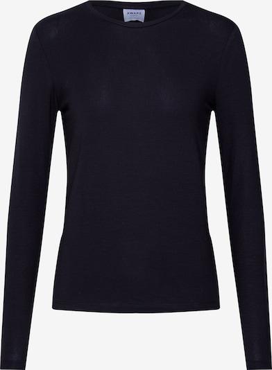 Marškinėliai 'VMAVA L/S TOP GA NOOS' iš VERO MODA , spalva - juoda: Vaizdas iš priekio