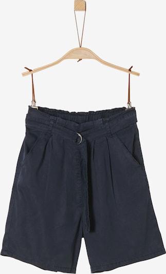s.Oliver Junior Shorts in nachtblau, Produktansicht