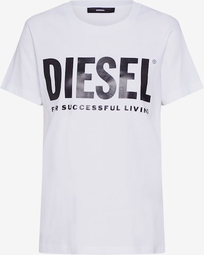DIESEL Shirt 'T-SILY-WX T-SHIRT' in white, Item view