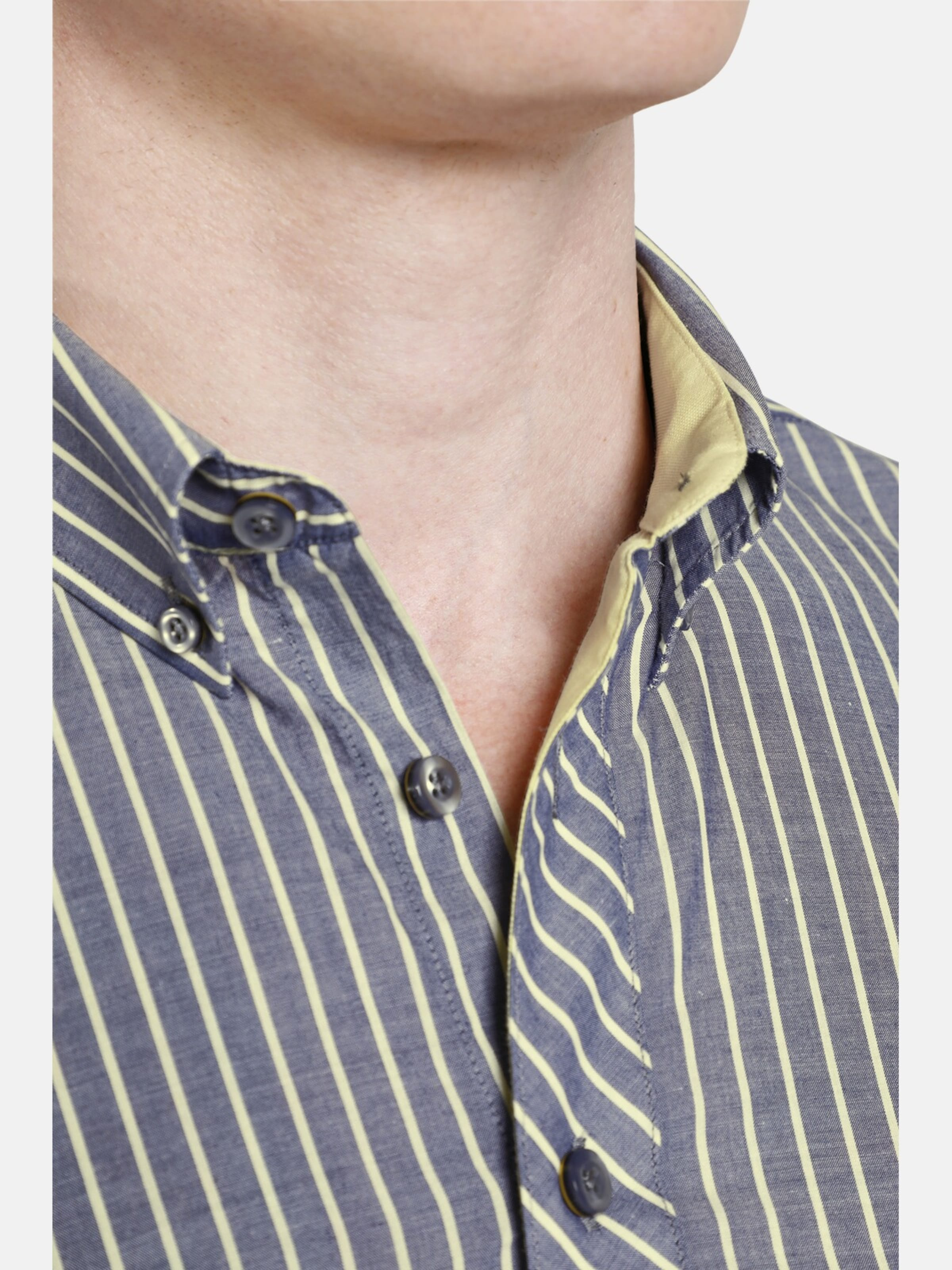 Shirtmaster Hemd Shirtmaster In 'yellowchic' 'yellowchic' Hemd GelbGrau wXPN8n0Ok