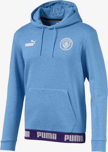 PUMA Sweatshirt 'Manchester City Football Culture' in blau: Frontalansicht