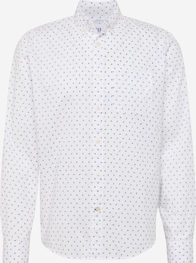 GAP Overhemd 'V-SU 20 UNTUCKED' in de kleur Blauw / Wit, Productweergave