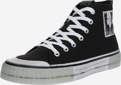 Karl Lagerfeld Sneaker 'KAMPUS II' in schwarz / weiß, Produktansicht