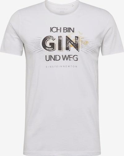 EINSTEIN & NEWTON T-Shirt 'Gin Weg' in weiß, Produktansicht