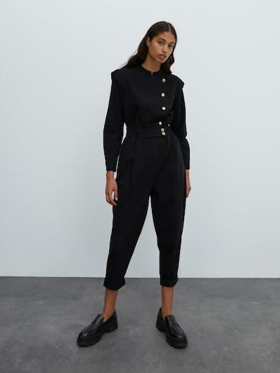 EDITED Overal 'Cosima' - černá, Model/ka
