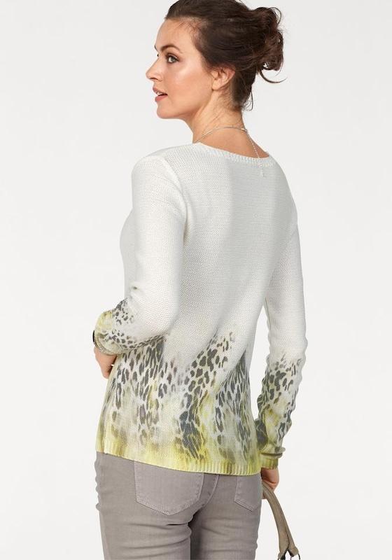 LAURA SCOTT V-Ausschnitt-Pullover
