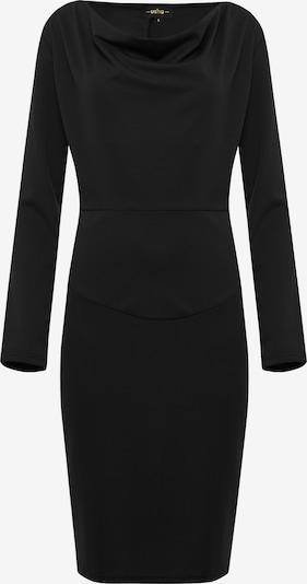 Usha Kokerjurk in de kleur Zwart, Productweergave