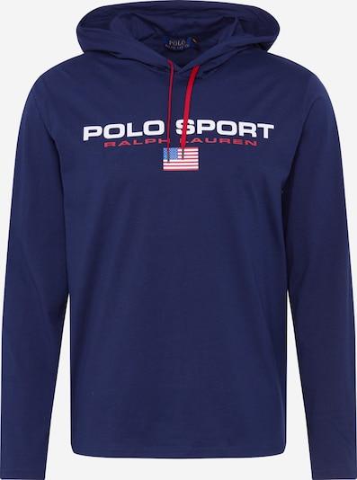 POLO RALPH LAUREN Sweat-shirt 'LSPOHOODM5' en bleu marine, Vue avec produit