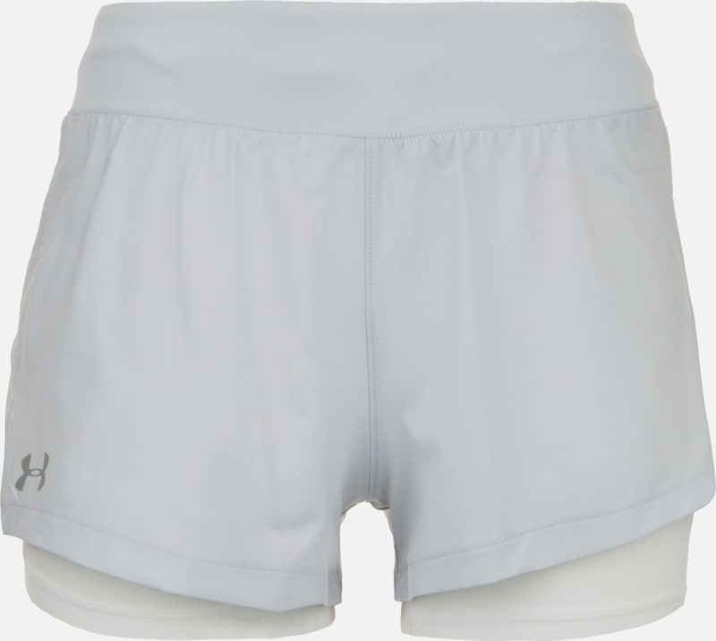 UNDER ARMOUR Laufshorts in weiß, Produktansicht
