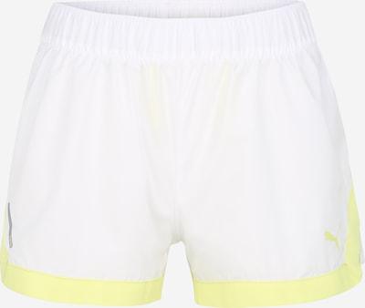 PUMA Sporthose in neongelb / weiß, Produktansicht