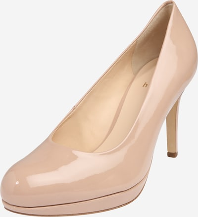 Högl Pumps in beige: Frontalansicht