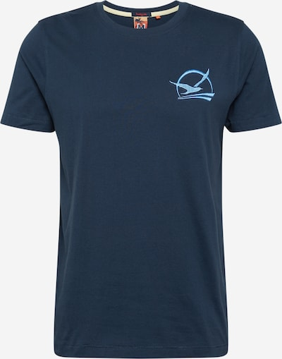 Hailys Men T-Shirt 'Sunset' in navy, Produktansicht
