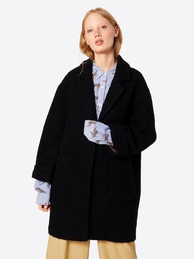 Rudeninis-žieminis paltas 'Jetty Jacket' iš MOSS COPENHAGEN , spalva - juoda, Modelio vaizdas