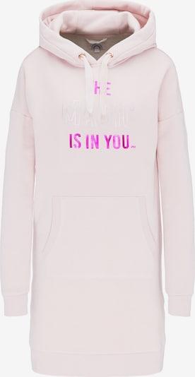 MYMO Jurk in de kleur Rosa / Donkerroze / Zilver, Productweergave