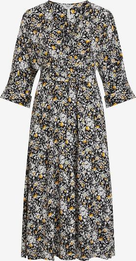 OBJECT Kleid in hellblau / gelb / schwarz, Produktansicht